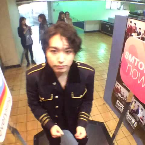 "[#100thSuperShow] #SuperJunior WORLD TOUR ""SUPER SHOW 6"" with @smtownglobal, SUNGMIN - SMTOWN GLOBALs post on Vine"
