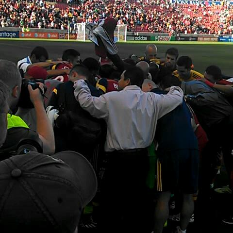 Game on. #RSL - Tyler Gibbonss post on Vine