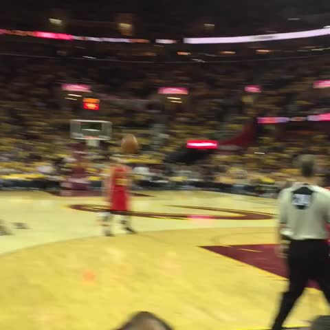 Vine by Cavs - .@dahntay1 sinking his way into HISTORY. #ALLin216