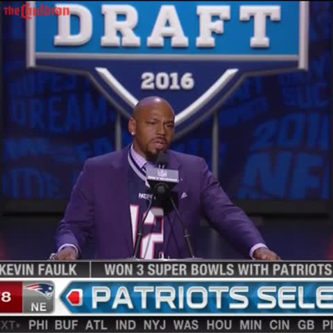 Vine by The Cauldron - Kevin Faulk Supporting Tom Brady