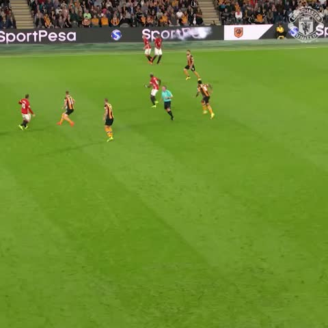 Vine by Manchester United - Paul Pogba v Hull #MUFC