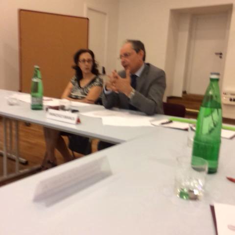 Francesco Branca del #Miur commenta gli esiti del workshop di Bari #goetheinstitut #tedescolavoro