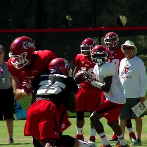 Vine by Utah Athletics - Three days until Troy Williams takes the field as your starting QB. #goutes