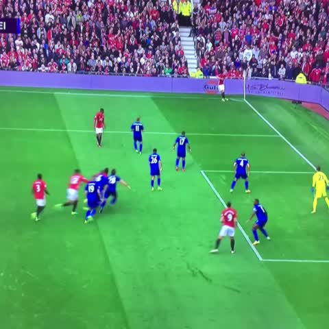 Vine by JuveBillz - POGBA SCORES HIS FIRST GOAL FOR UNITED.THIS IS FOR THE UNITED FANS. €105 MILLION JUSTIFIED.