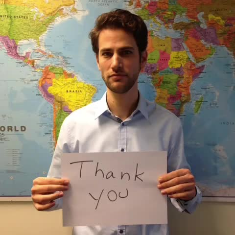 EU Humanitarian Aids post on Vine - Our colleague @sobd shows his appreciation for selfless work of humanitarians. Share yours in @IMC UK #GlobalThankYou! http://bit.ly/11B3kpX - EU Humanitarian Aids post on Vine