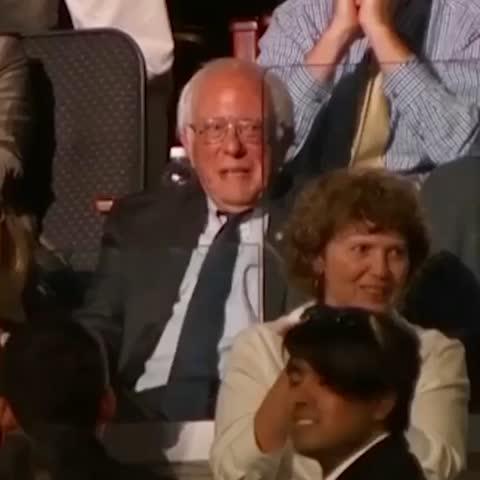 Vine by CNN Politics - Bernie Sanders tears up when his brother casts his vote for him #news #politics #cnn