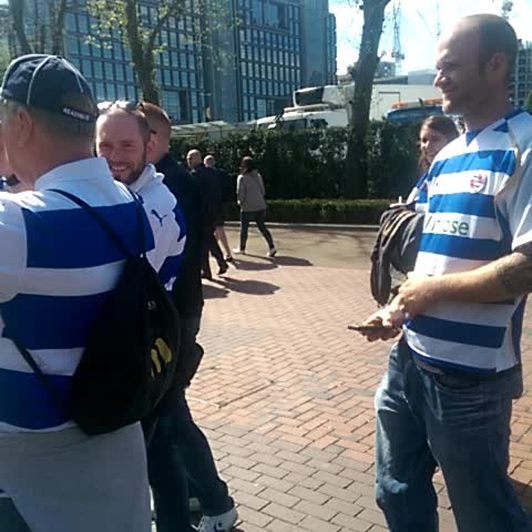 Vine by Reading FC - Sir John is here! #wembleyroyals