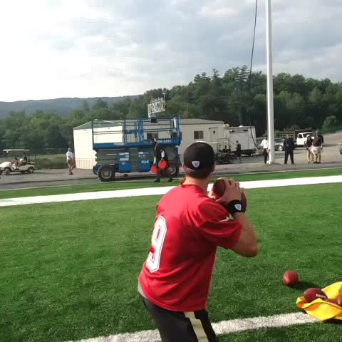 New Orleans Saintss post on Vine - .@DrewBrees previews todays #SaintsQBs challenge: Skeet Shooting - New Orleans Saintss post on Vine
