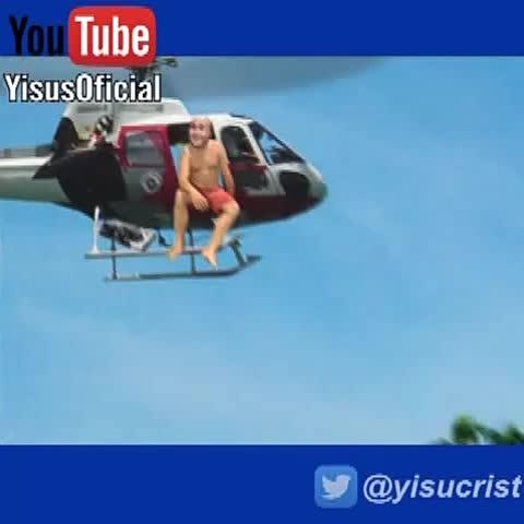 Vine by Yisucrist - Kiko Rivera tirándose del helicóptero de Supervivientes