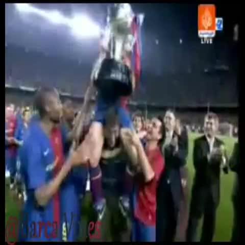 Barca Viness post on Vine - FC Barcelona 2008 - 2009 [6] Cups  #Barcelona - Barca Viness post on Vine