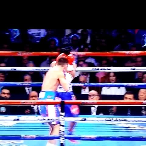 The Sports Junkys post on Vine - Pacquiao puts Algieri on his back! #PacAlgieri - The Sports Junkys post on Vine