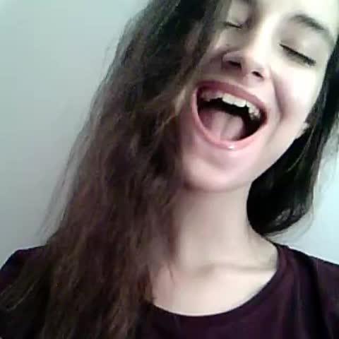 Vine by Valentina Politi - Caught lipsyncing😞 #lipsync #Playback #whistle #whistletone #theway #arianagrande #happybirthdayariana