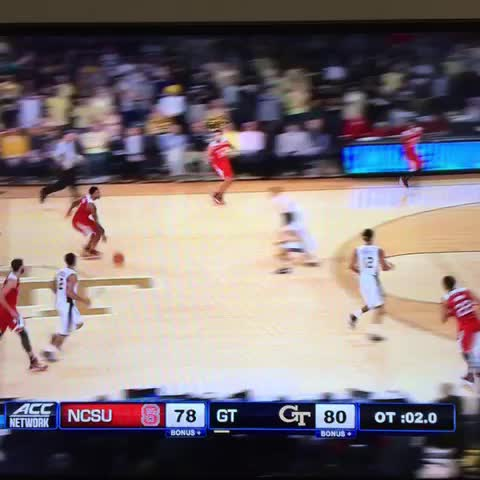 Vine by Steven - Trevor Lacey at the buzzer