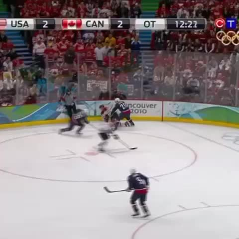 Vine by Hockey Canada - Five years ago today, Crosby scored the Golden Goal. Credit: CTV/COC