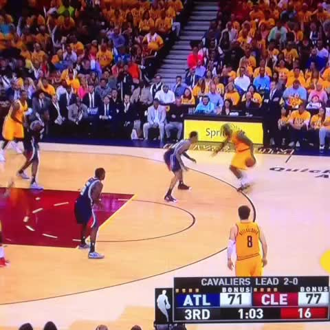 Vine by RealGM - LeBron James still dunking on people.