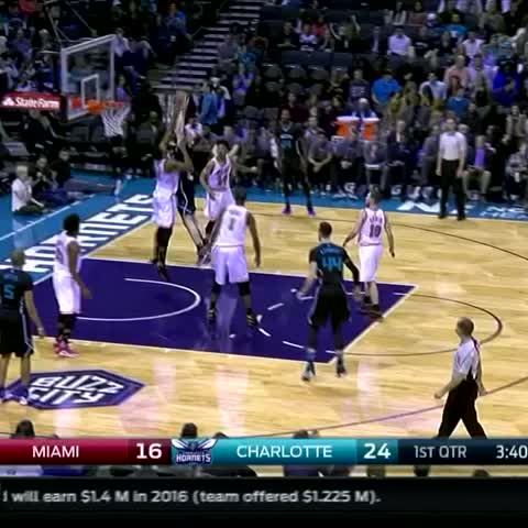 Vine by The NBA on ESPN - Hassan Whiteside had a block party tonight.