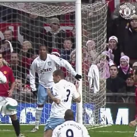 Vine by Manchester United - Remember this cheeky Ronaldo flick? It was seven years ago today. #mufc