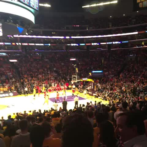 Vine by Lakers - J-Hill ties it up at 106 #GoLakers