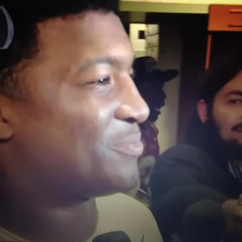 Jameis was asked after the BCS National Championship if FSU was set for another run after their undefeated season. Here was his answer: - Vine by Florida State Gameday - Jameis was asked after the BCS National Championship if FSU was set for another run after their undefeated season. Here was his answer: