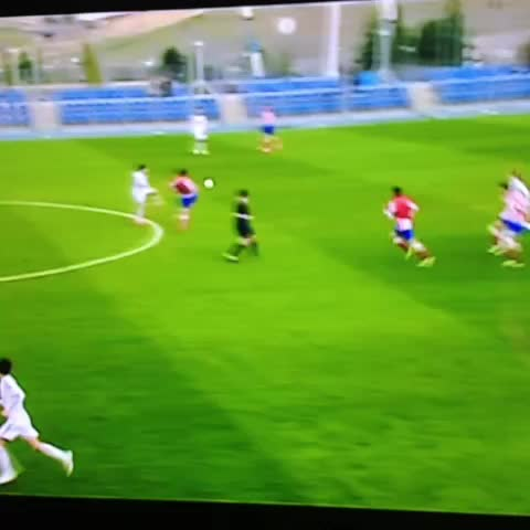 Vine by Twitter @MReus11_ - GOLAZO DEL JUVENIL A. REAL MADRID 4-1 ATLETICO