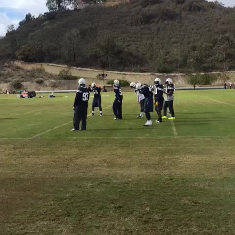No practice is complete without a Manti-Melvin jam sesh. #SDvsSF - Vine by San Diego Chargers - No practice is complete without a Manti-Melvin jam sesh. #SDvsSF