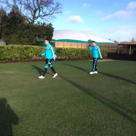 Vine by Chelsea FC - Out to training at Cobham... #CFC