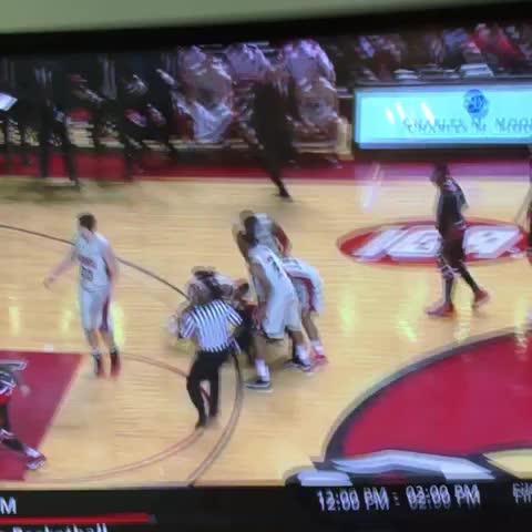 Louisville fight - Vine by Rob Dauster - Louisville fight