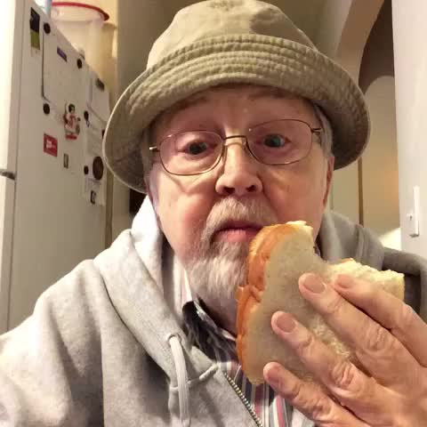 Vine by Old Man Steve - Peanut butter sandwich 😜😋😛#oldmansteve #OldPeopleBeLike