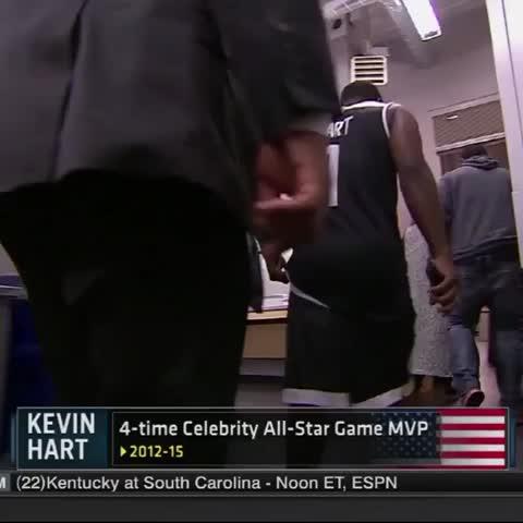 Vine by NBA - 4-time MVP taking it upon himself to bring ???????? back.. #LetsSee ???? #DewCelebGame on ESPN!