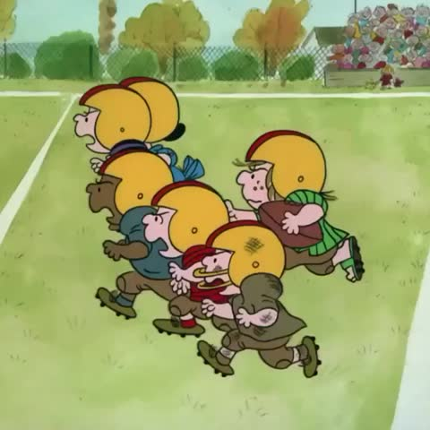 Vine by PEANUTS - Are you ready for some football? 🏈
