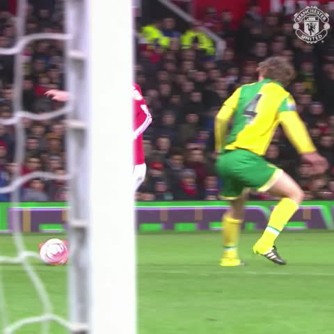 Vine by Manchester United - Wow. Just wow from Will Keane. #mufc