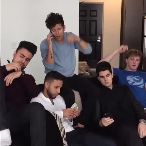 """Vine by Rudy Mancuso - Saying """"I love you"""" in front of your friends w/ Christian DelGrosso, Logan Paul, Anwar Jibawi, George Janko"""