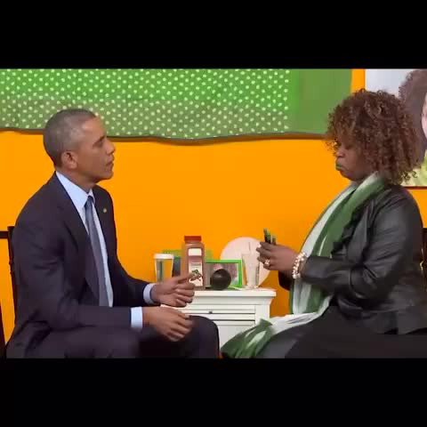 Vine by GloZell - Gifts for the First Lady - NOT his first wife! #whoopsies #YouTubeAsksObama #GloZellAsksObama #GlozellGreen #BarackObama #FirstLady