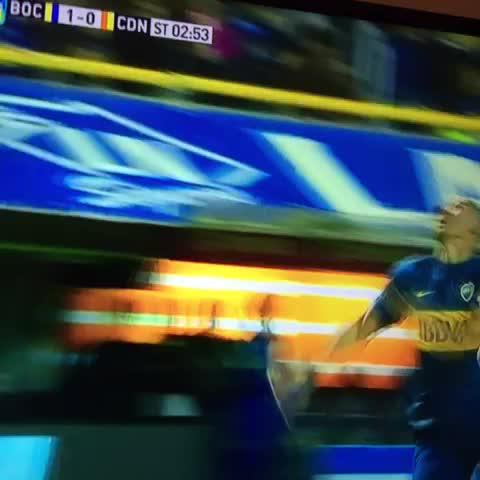 Vine by Sebastián Davidovsky - Les juro que el árbitro no cobró penal en contra de Boca