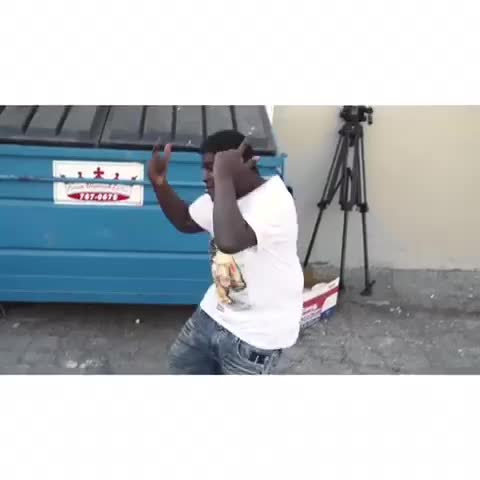 "Vine by MrCaponee - This is what happens when the song ""LOCO"" comes on ????????"