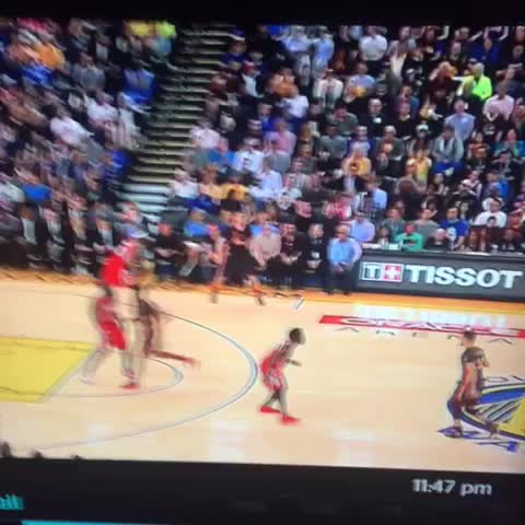 Vine by Randy Cruz - Curry shot this from yesterday.