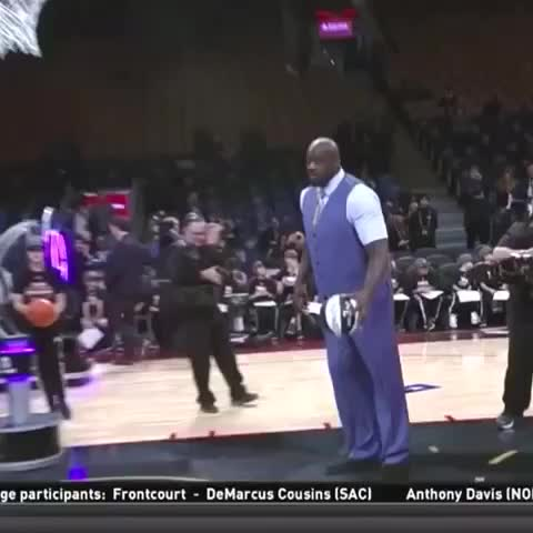 Vine by LegionNBA - Get up SHAQ!!