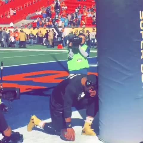 Vine by NFL - Cam Newton. Pregame ritual. #SB50