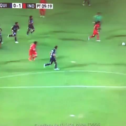 Vine by RipleiTV - Golazo de Independiente. Mancuello
