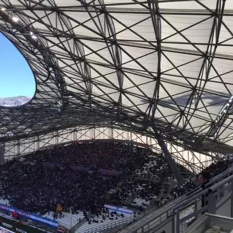 Ca fait du bruit un stade rempli ! #OMLOSC - Vine by Olympique Marseille - Ca fait du bruit un stade rempli ! #OMLOSC