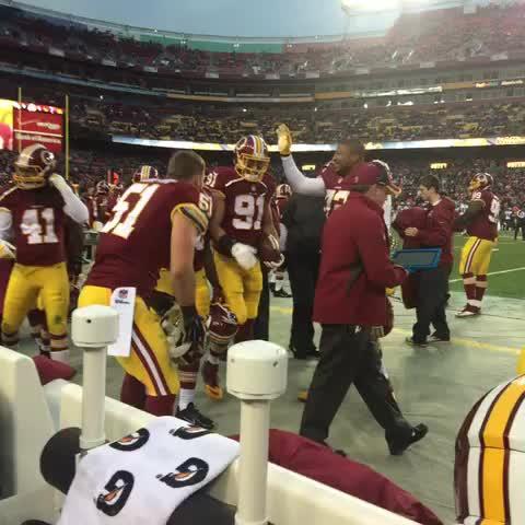 Yeah folks, thats Ryan Kerrigans football! #PHIvsWAS #HTTR - Vine by Redskins - Yeah folks, thats Ryan Kerrigans football! #PHIvsWAS #HTTR