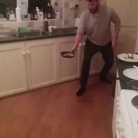 Vine by The LAD Bible - Taking pancake flipping to another level...
