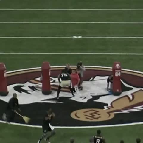 Vine by SportsCenter - Throws like these are why Jameis Winston is the projected No. 1 overall pick.
