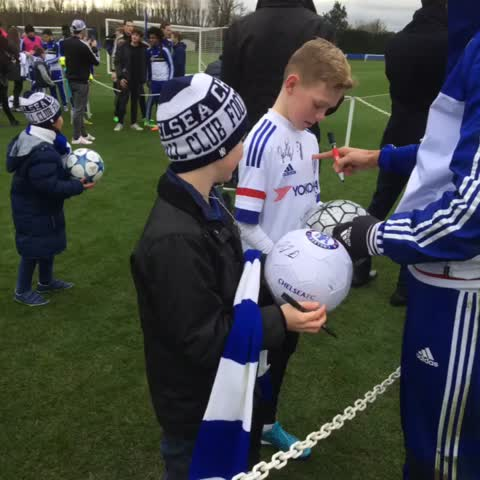 Vine by Chelsea FC - Its Community Day at Cobham! #CFC