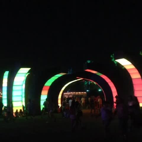 Vine by Randall Roberts - Interpol crawling along at Coachella. #coachella2015