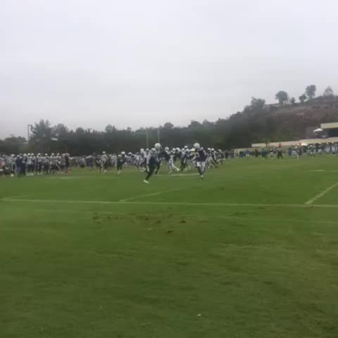 Vine by San Diego Chargers - Gordon off tackle. #chargerscamp