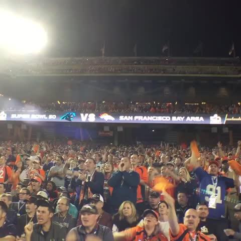 Vine by Denver Broncos - Broncos Country 👊🏽 #SB50