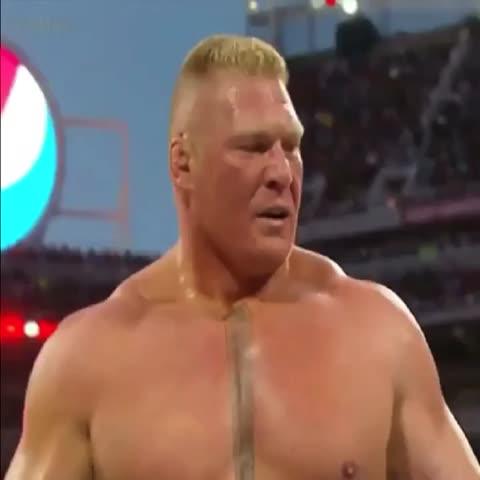 Vine by e S ∃ n T R I K - SUPLEX CITY #brocklesnar #WrestleMania