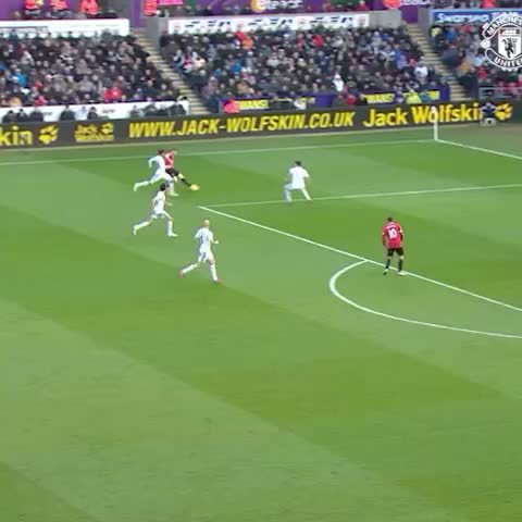 Vine by Manchester United - Ander Herrera hit this great strike v Swansea when we visited South Wales last season. #mufc