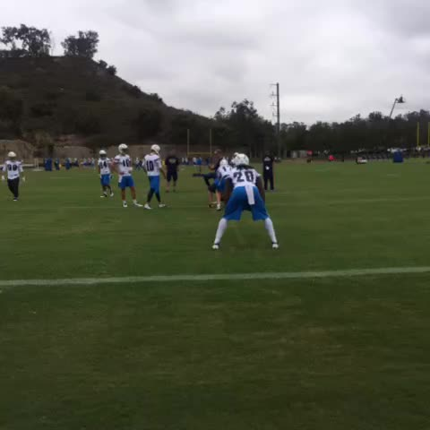 Watch San Diego Chargers S Vine Quot Rivers To Gordon Quot